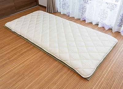 FULI Japanese Traditional Shiki Futon (shikibuton) High Grade Floor Mattress, Twin XL. Made in Japan