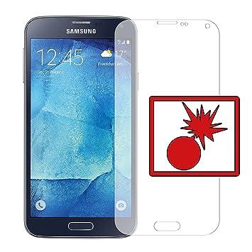 Slabo 2 x Protector de Pantalla blindado para Samsung Galaxy S5 ...