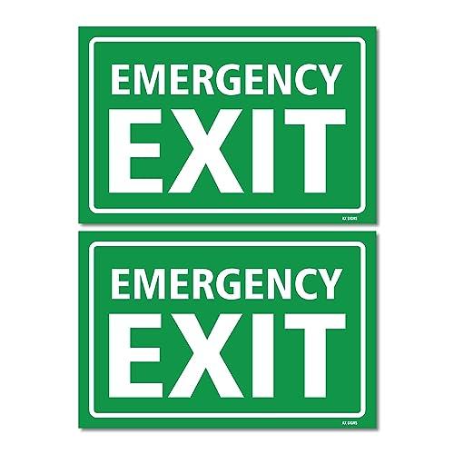 Stickers Emergency Exit Amazon Com