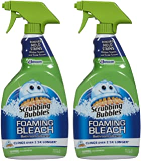 bathroom cleaner without bleach. scrubbing bubbles foaming bathroom cleaner with bleach - 32 oz 2 pk without r