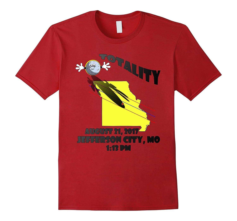 Funny Jefferson City Missouri Total Solar Eclipse T-Shirt-Teevkd