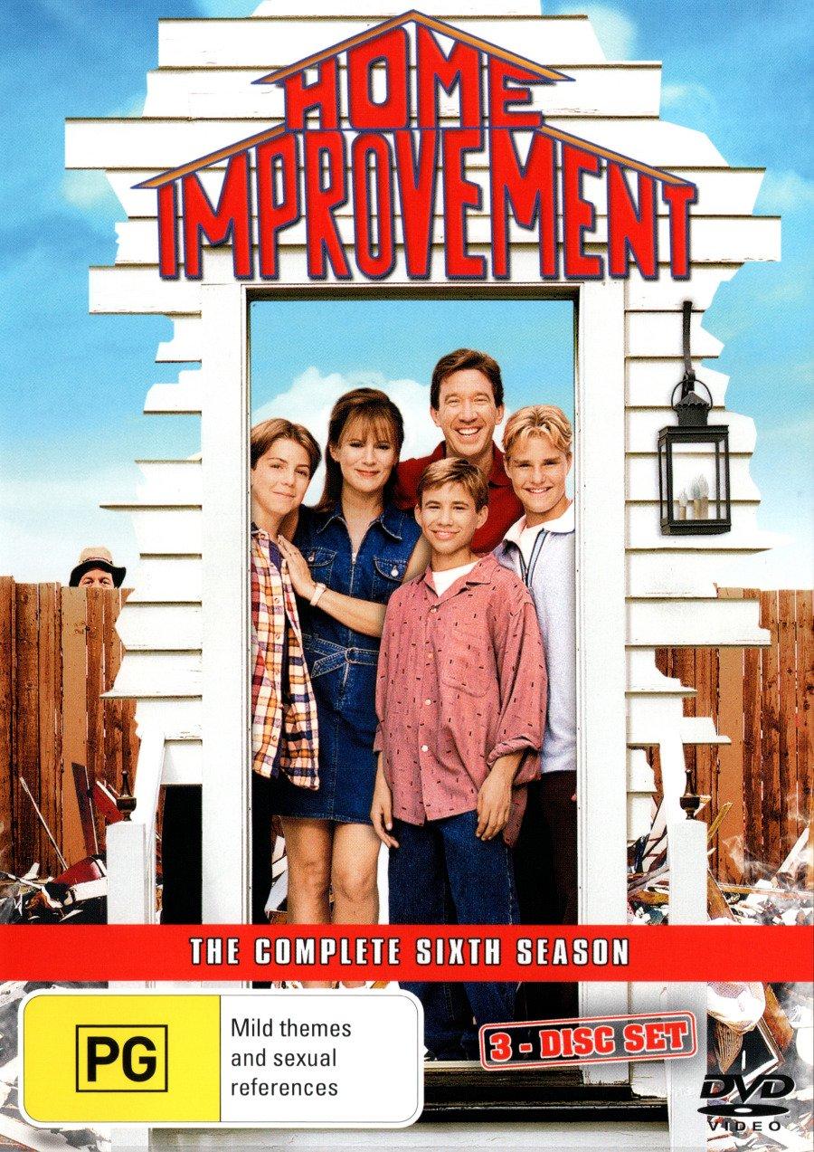 Amazon Com Home Improvement Season 6 3 Discs Non Usa Format Pal Region 4 Import Australia Tim Allen Patricia Richardson Earl Hindman Richard Karn Jonathan Taylor Thomas Movies Tv
