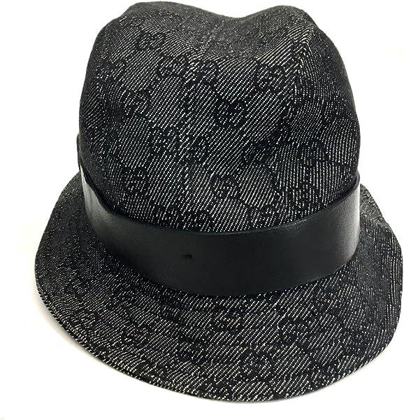 fc5755e99cc9 (グッチ)GUCCI デニム GG ハット帽 帽子 GGキャンバス レディース 中古. 戻る. ダブル ...