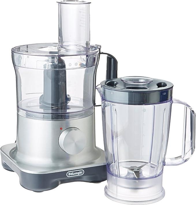 DeLonghi 9-cup capacidad procesador de alimentos con integrado licuadora: Amazon.es: Hogar