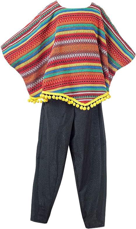 Disfraz de Mejicano Anam para niño: Amazon.es: Juguetes y juegos