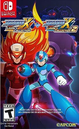 amazon mega man x legacy collection 1 2 輸入版 北米 switch