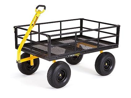 Amazon.com  Gorilla Carts GOR1400,COM Heavy,Duty Steel