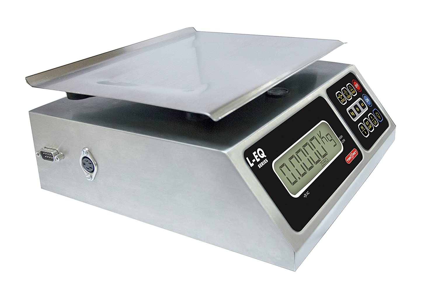 Amazon.com: TORREY LEQ 5/10 High Precision Digital Portion Control Scale, Stainless Steel Construction, 5 kg/10 lb. Capacity: Kitchen & Dining