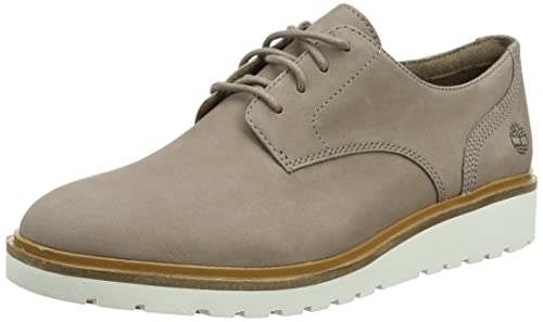 Timberland Ellis Street Lace-Up, Zapatos de Cordones Oxford para Mujer, Azul (Dark Total Eclipse Luscious L42), 40 EU