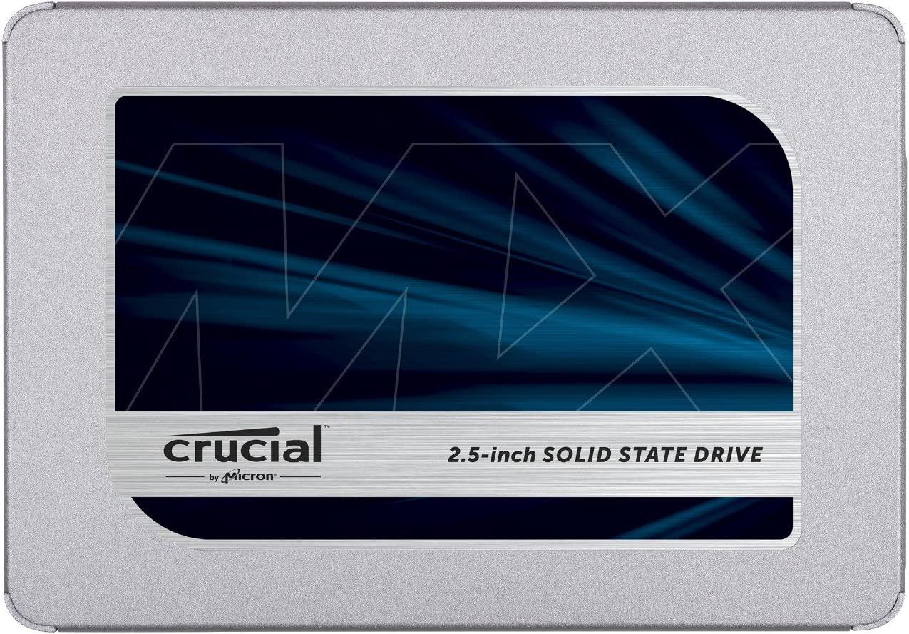 Crucial 1To CT1000MX500SSD1(Z) SSD interne MX500-jusqu'à 560 Mo/s (3D NAND, SATA, 2,5...