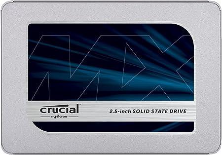 Oferta amazon: Crucial MX500 1TB CT1000MX500SSD1(Z) Unidad interna de estado sólido-hasta 560 MB/s (3D NAND, SATA, 2.5 Pulgadas)