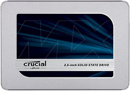 Crucial MX500 500GB 3D NAND SATA 2.5 Inch Internal SSD (CT500MX500SSD1) Internal Solid State Drives at amazon