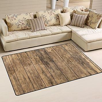 Amazon De Coosun Altem Holz Boden Bereich Teppich Teppich