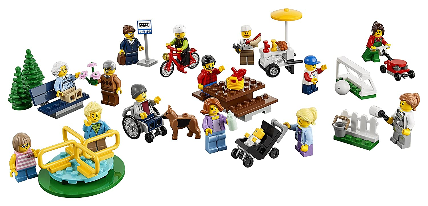 LEGO mini figures from Fun in the Park Set
