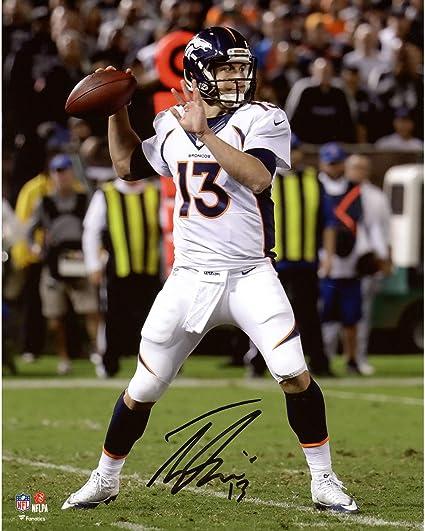 Amazon.com: Trevor Siemian Denver Broncos Autographed 8