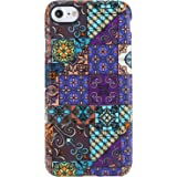 VIVIBIN iPhone 7 Case,iPhone 8 Case,Cute Multi-Colored Morocco for Women Girls Clear Bumper Soft Silicone Rubber Matte TPU Best Protective Cover Slim Fit Phone Case for iPhone 7/iPhone 8