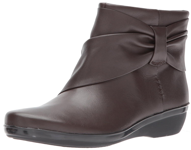 CLARKS Women's Everlay Mandy Boot B01MRX2XQ9 11 B(M) US|Dark Brown Leather