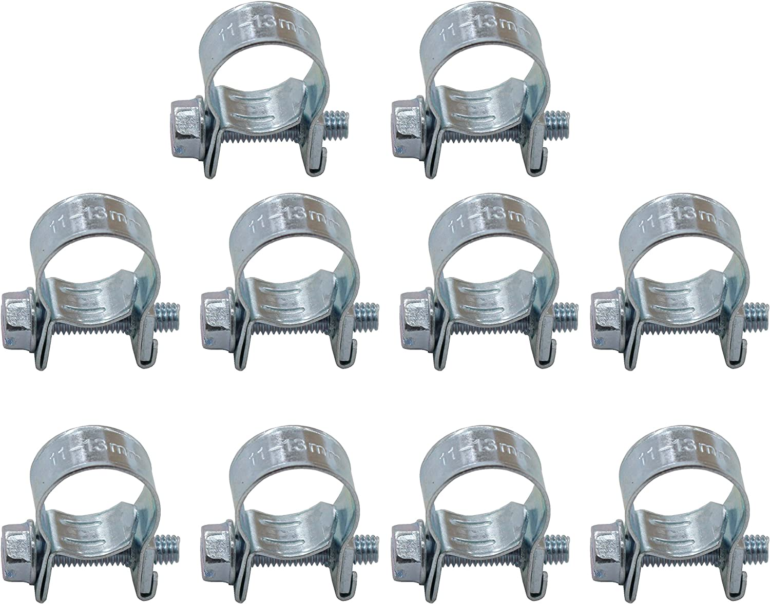 Stainless Steel 2 or 10 Packs Performance Mini Fuel Line Hose Clamps Clips