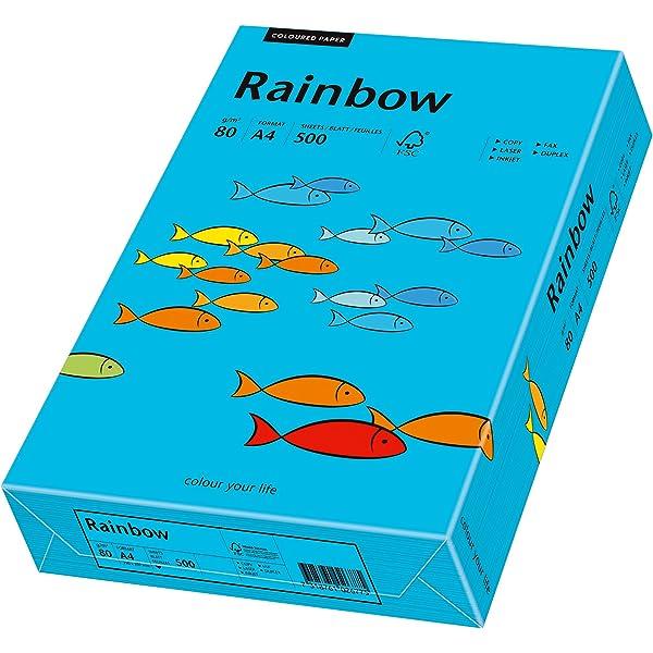 Papyrus 88042390 Rainbow 80 g//m2, A3, 500 hojas color amarillo Papel de impresi/ón universal