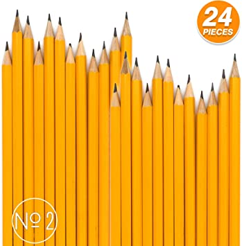 AmazonBasics Pre-sharpened Wood Cased #2 HB Pencils 150 Pack