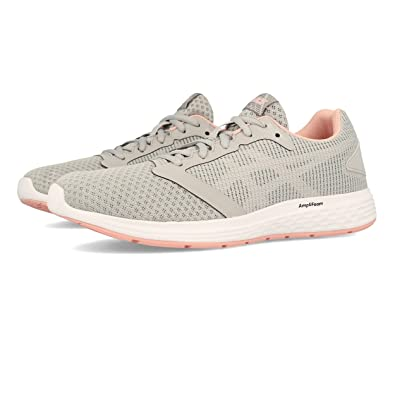 Asics Patriot 10, Chaussures de Running Femme, Multicolore (Mid Grey/Frosted Rose 020), 41.5 EU