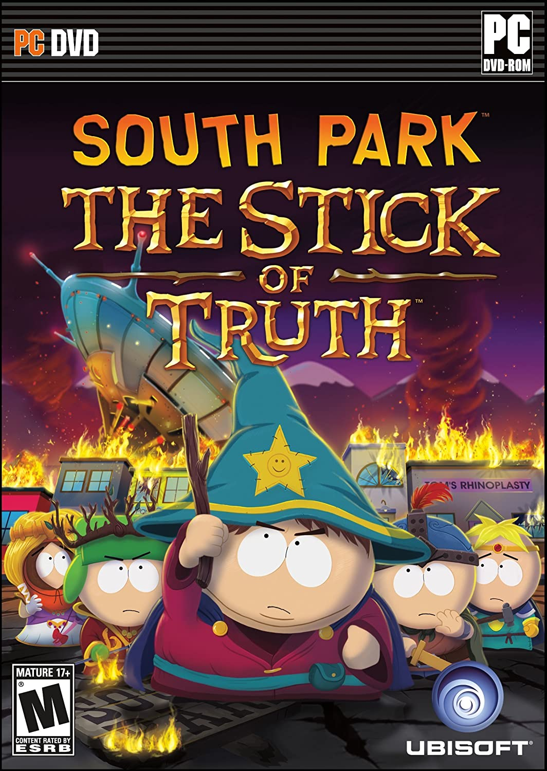 amazon com south park the stick of truth pc video games
