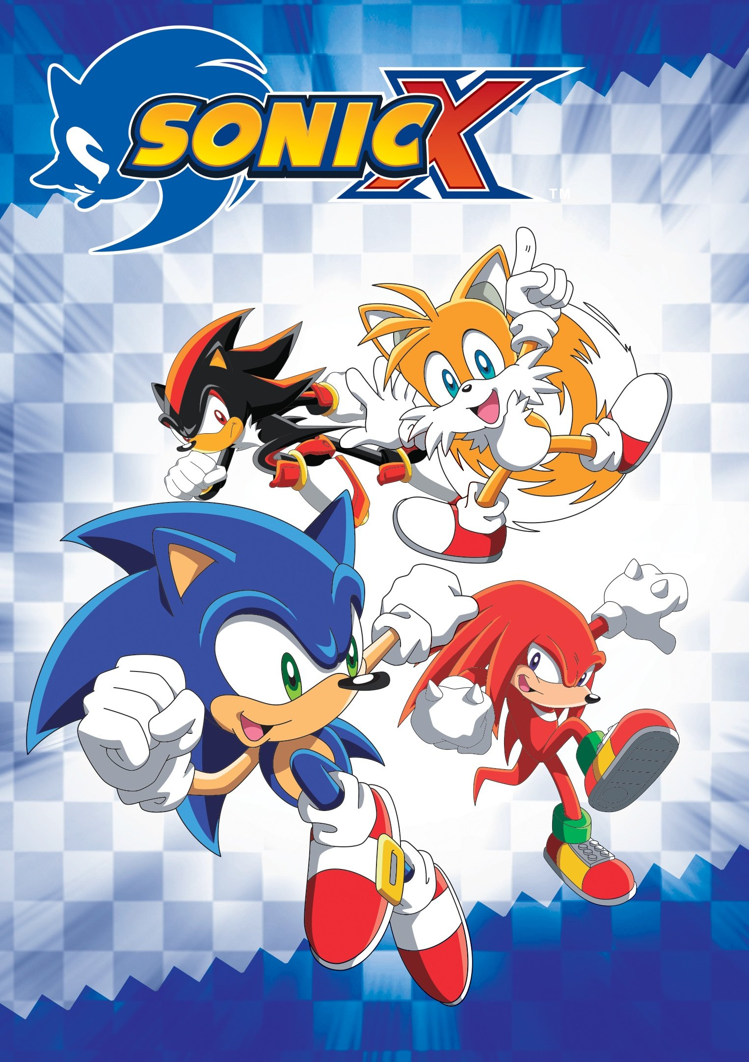 DVD : Sonic X Complete Seasons 1 And 2 (8 Disc)
