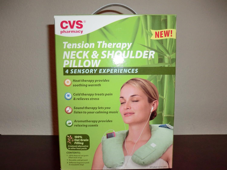 amazon com tension therapy neck u0026 shoulder pillow by cvs health