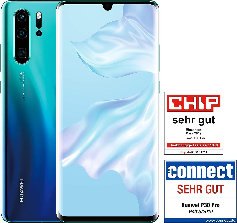 Huawei P30 Pro Dual SIM Smartphone BUNDLE 256 GB Aurora [Versión ...