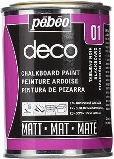 Pebeo - Pintura de Pizarra (250 ml), Color Gris Oscuro: Amazon.es: Hogar