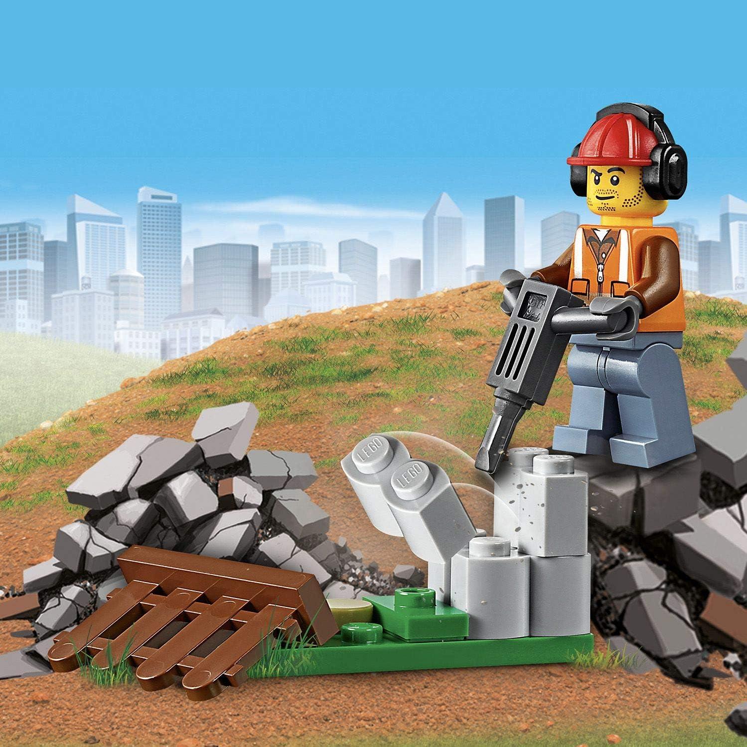 LEGO CITY operaio edile retrattile penna
