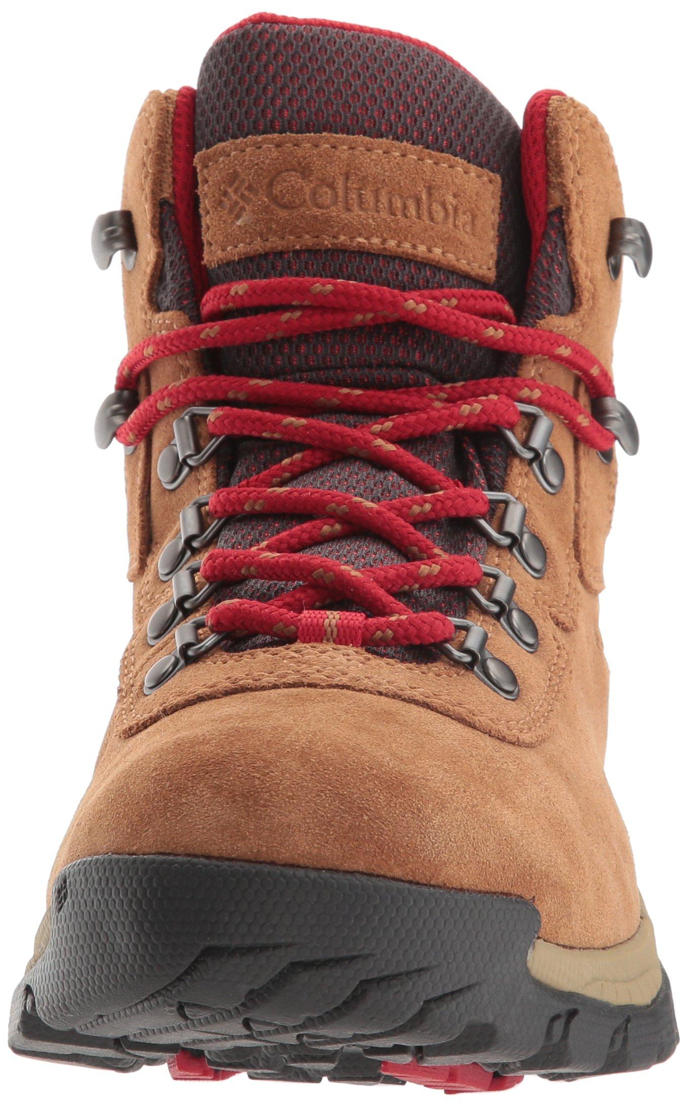 Columbia Women's Newton Ridge Plus Waterproof Amped Hiking Boot, Elk, Mountain Red, 7.5 B US by Columbia (Image #4)
