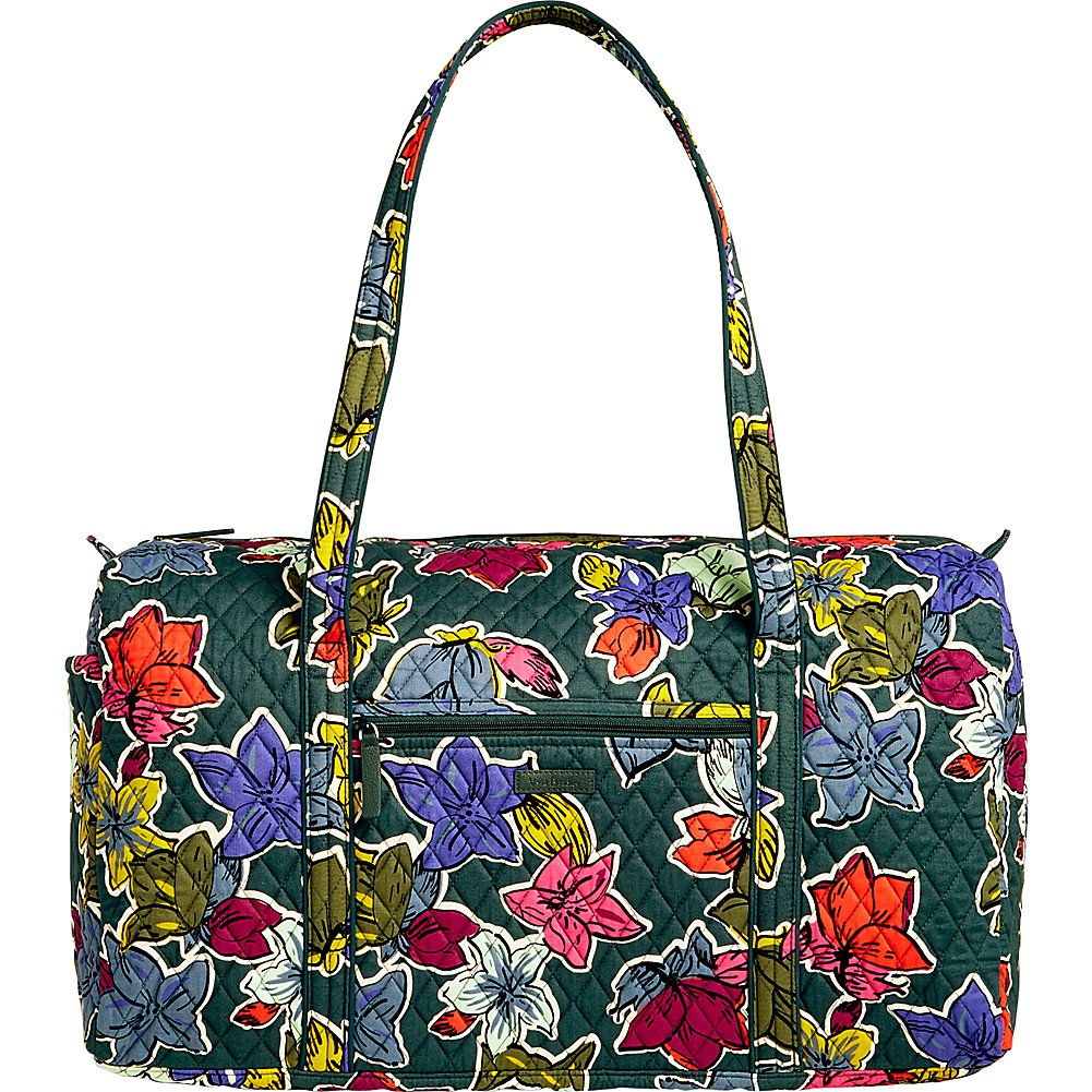 Women's Large Duffel, Signature Cotton, Autumn Leaves Women's Large Duffel Vera Bradley 15460