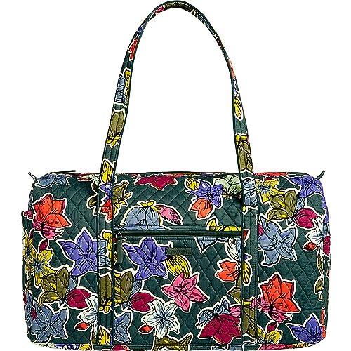 46d2260079 Vera Bradley Luggage Women s Large Duffel Falling Flowers Duffel ...