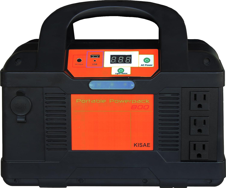 kisae tecnología Pp800 800 portátil Power Pack: Amazon.es: Jardín