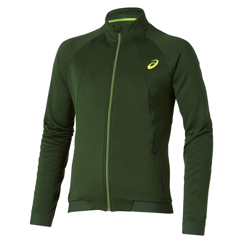 Asics-Felpa da donna Gael Monfils Athlete-Giacca tuta, taglia L, colore: verde 121688-5006-L