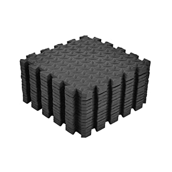 Wodswod Schutzmatten 18 Set Puzzlematten 30x30x1cm Wasserdichte