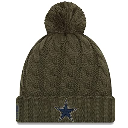 Amazon.com   Dallas Cowboys New Era Salute to Service Womens Knit ... 5569b9d5e