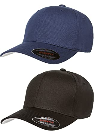 e3734d3fa68 1. Flexfit 2-Pack Premium Original Cotton Twill Fitted Hat