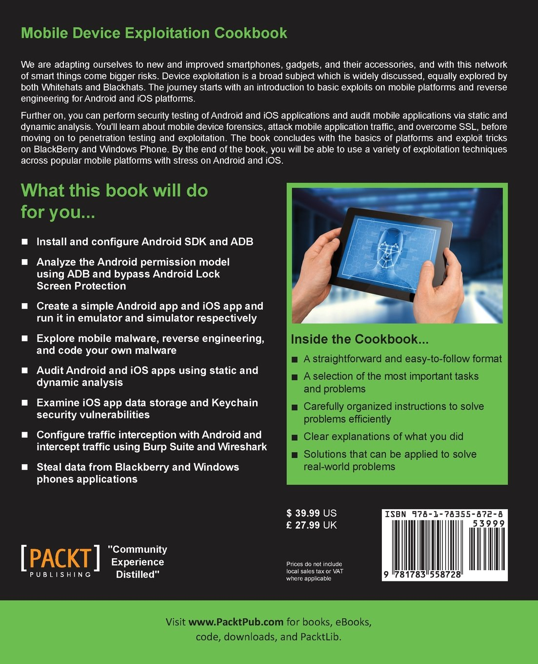 Buy Mobile Device Exploitation Cookbook Book Online at Low