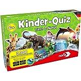 """Noris Spiele 606011629 - """"Kinderquiz Tiere & Natur Kinderspiel"""