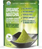 Matcha Green Tea Powder - Powerful Antioxidant Japanese Organic Culinary Grade Matcha - 1 oz (113 grams) - Increases Energy and Focus - Naturally Supports Weight Loss Goals and Healthy Metabolism