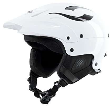 acf7653a Amazon.com : Sweet Protection Rocker Paddle Helmet, Gloss White ...