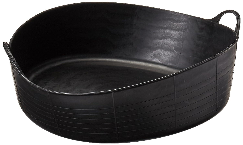 Miniseaux Sp35gbk Flexible Noir Gorilla Grande peu profond 35litre/9.2Gallon Contenance Tubtrugs