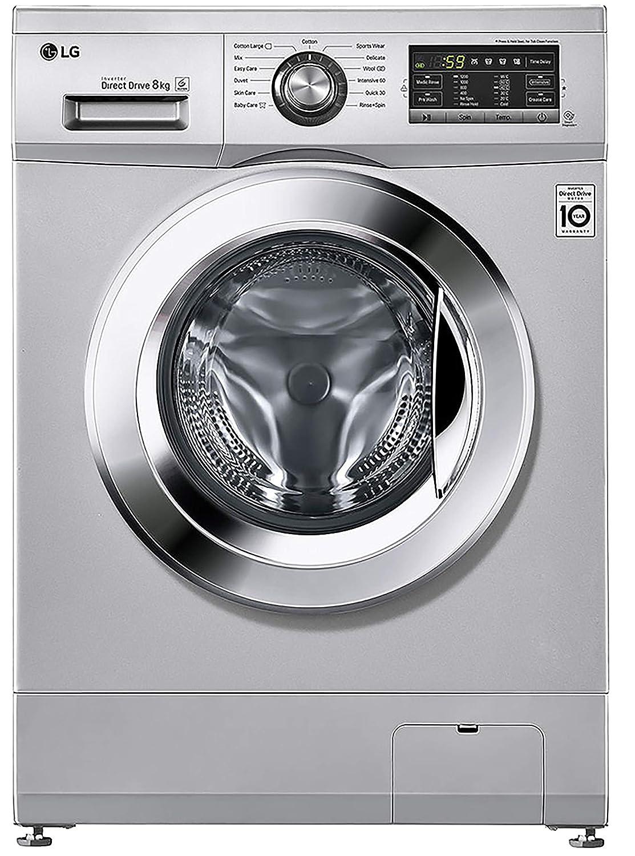 LG 8.0 Kg Inverter Fully-Automatic Front-Loading Washing Machine