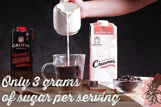 Califia Farms Almondmilk Coffee Creamer with Coconut Cream, Dairy Free, Dulce De Leche, 25.4 Oz (Pack of 6): Amazon.com: Grocery & Gourmet Food