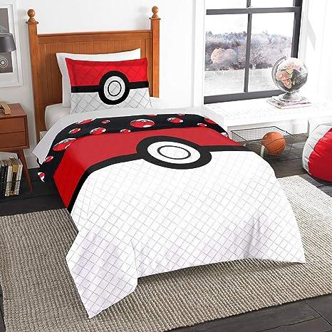 Amazon.com: Pokemon Colcha y Sham individual/Full: Home ...
