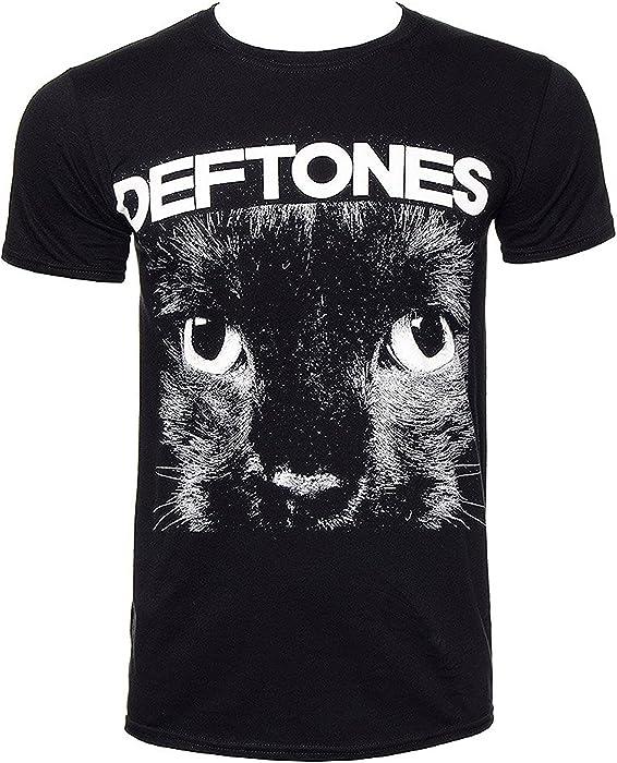 Official T Shirt Metal DEFTONES Black /'Sphynx/' Cat Eyes All Sizes