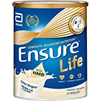 Abbott Ensure Life Complete Balanced Nutrition Milk Powder with HMB - Vanilla - 850g