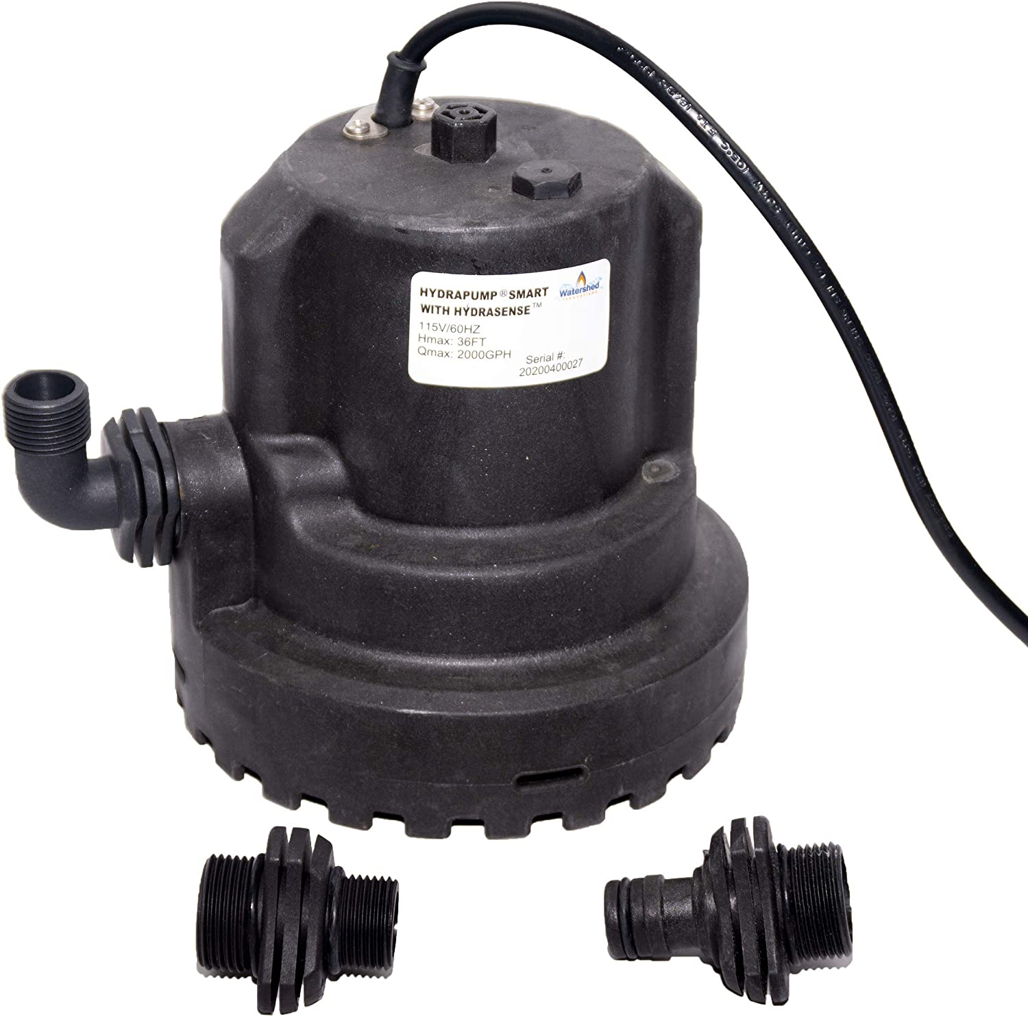 HydraPump Smart v1.2 - Water Pump with improved HydraSense technology for automatic operation